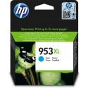 HP encre 953 XL Cyan F6U16AE OfficeJet Pro 8710, 8720, 8730, 8740