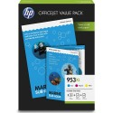 HP encre 953 XL Value Pack 1CC21AE OfficeJet Pro 7720, 7730