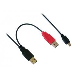MCL MC922APB/2-1M câble USB...