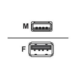 MCL MC922AMF-2M/N câble USB...