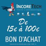 Carte cadeau Incoretech